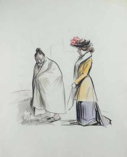 Jean-Louis FORAIN (1852 - 1931) - Avant le...