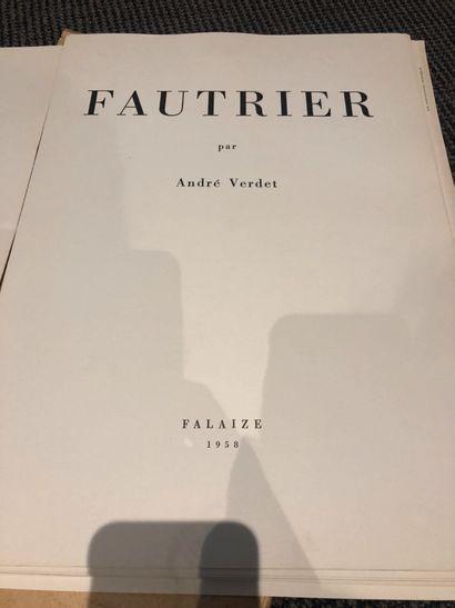 * Jean BOURET. Suzanne Valadon. Paris, O. Pétridès. Un des 20 exemplaires hors commerces,...