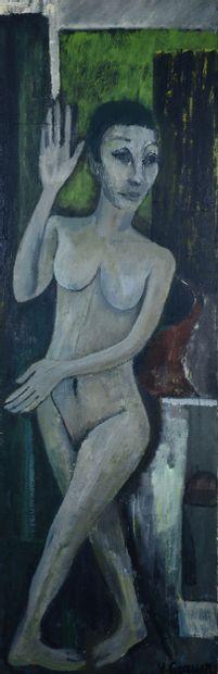 Yvonne GRAUER (Née en 1922) - Le grand nu,...