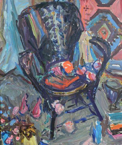 Emile SABOURAUD (1900 - 1996) - Intérieur...