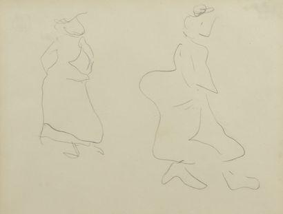 Albert MARQUET (1875 -1947) - Deux femmes...