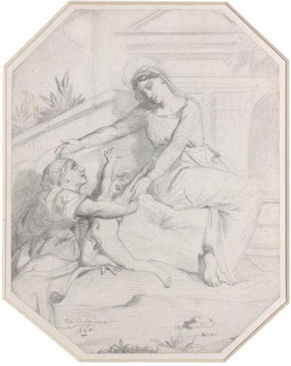 Théodore CHASSERIAU (Sainte Barbe de Samana 1819 - Paris 1856)