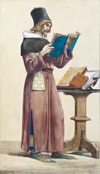 Luc Olivier MERSON (Nantes 1846 - Paris 1920)