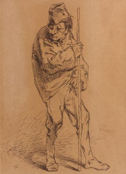 Paul GAVARNI (Paris 1804 - 1866)