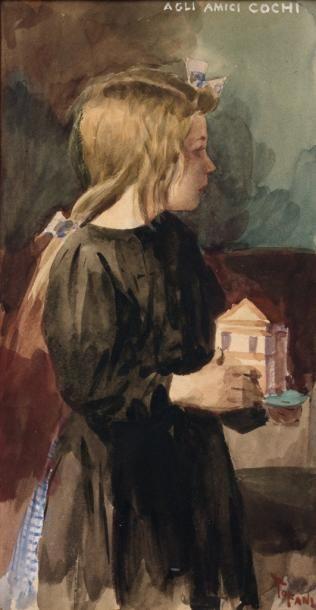 Osvaldo TOFANI (Florence 1849 - Paris 1915)