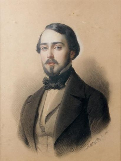 Albert GRAEFLE (Fribourg 1807 - Munich 1889)