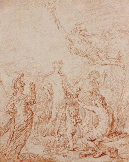 Attribué à Nicolas BERTIN (1667 - 1736)