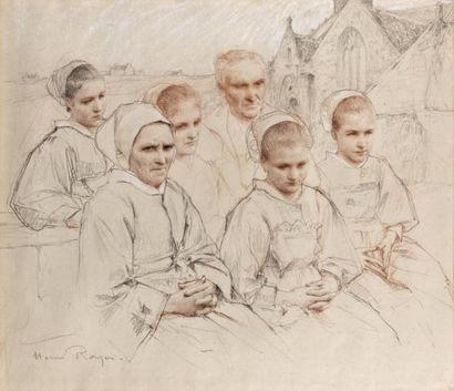 ECOLES BRETONNES des XIXème et XXème siècles Henri-Paul ROYER (1869-1938)