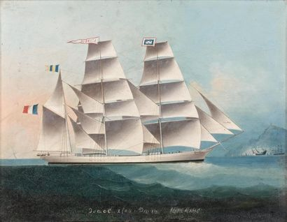 ECOLE DE HONG-KONG du XIXème siècle