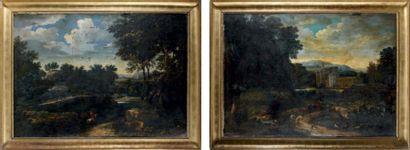 Attribué à Fréderic de MOUCHERON (1633 - 1686)