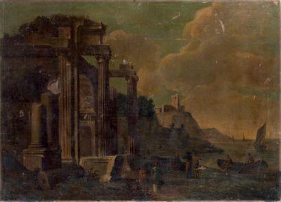Ecole ROMAINE du XVIIème siècle, entourage de Giovanni GHISOLFI