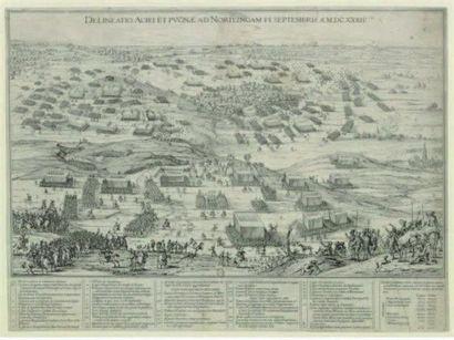 Peter SNAYERS (1592 - vers 1666) La bataille de Nördlingen, 6 septembre 1634 Toile...