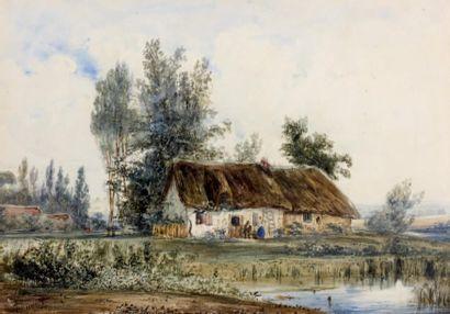 Paul HUET (Paris 1803 - 1869)