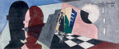 LAMBERT-RUCKI Jean (1888-1967) (atelier de)