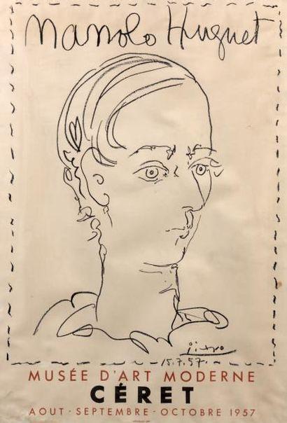 PICASSO Pablo (1881-1973) (d'après)
