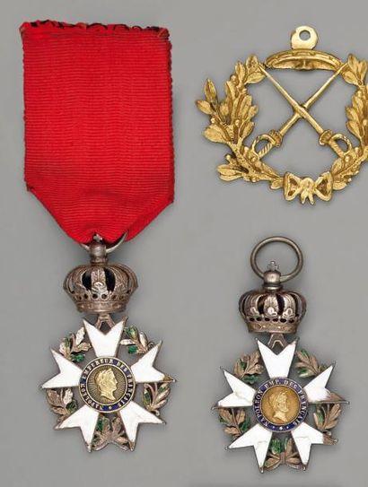 Deux croix de chevalier de l'ordre de la...