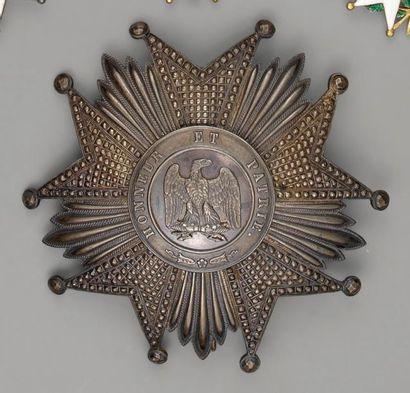 Plaque de grand croix de l'ordre de la Légion...