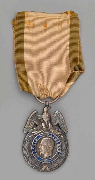 Médaille militaire, premier modèle en argent,...