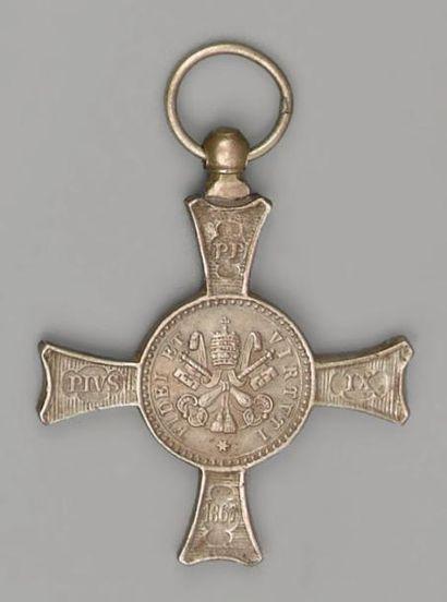 Médaille commémorative de la bataille Mentana,...