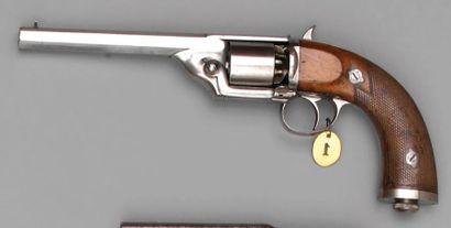 Revolver Devisme modèle 1860 à percussion,...