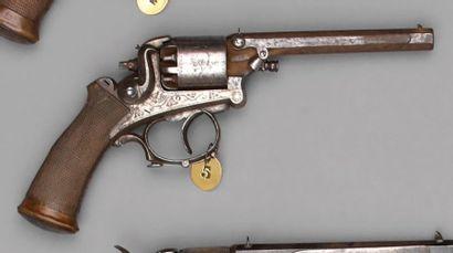 Revolver Mangeot & Comblain modèle 1859,...