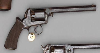 Revolver Adams modèle 1851 à percussion,...