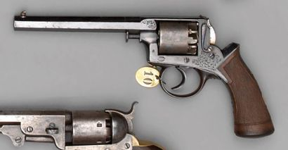 Revolver Adams modèle 1854 à percussion,...