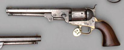 Revolver Colt modèle 1851 Navy à percussion,...