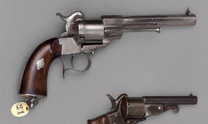 Revolver Lefaucheux modèle 1854 2e type (appelé...