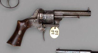 Revolver Lefaucheux à broche, double action,...