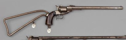 Revolver carabine Lefaucheux à broche, simple...
