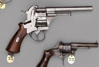 Revolver Lefaucheux à broche, simple, double...