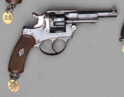 Revolver d'ordonnance d'officier modèle 1874...