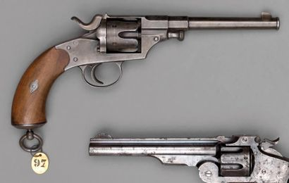 Revolver règlementaire allemand, Reich revolver,...