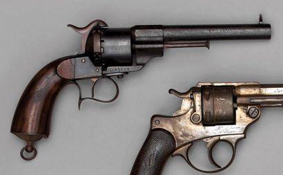 Revolver Lefaucheux de type 1858, fabrication...