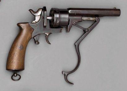 Revolver à système, Galand, calibre 12 mm,...