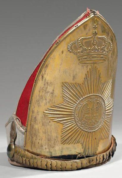 Bonnet du 1er régiment de grenadiers de la...