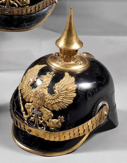 Casque prussien d'officier d'infanterie,...