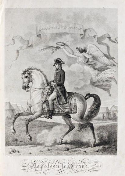 Campagnes de Napoléon Premier, Empereur des...
