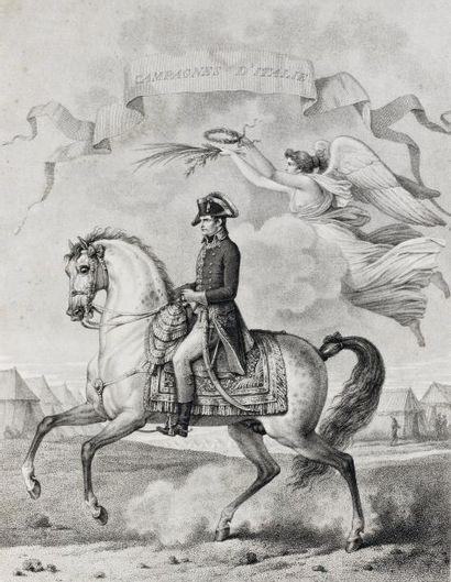 Campagnes de Napoléon Premier, Empereur des Français et Roi d'Italie. Tableaux historiques...