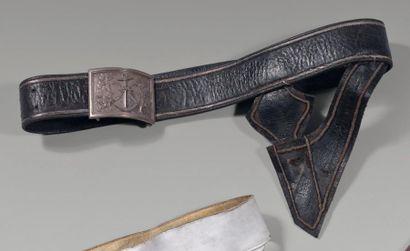 Porte-épée de commissaire de la marine, en...