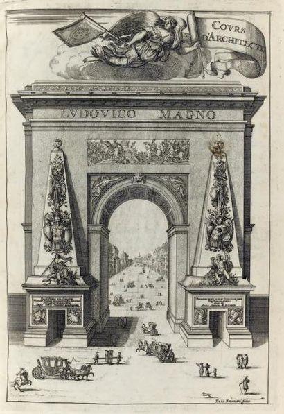 [ARCHITECTURE]. BLONDEL (Jacques François)....