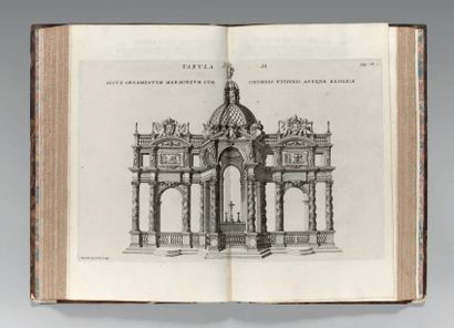 [ARCHITECTURE]. BONANNI (Philippo). Numismata...