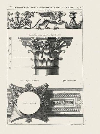 [ARCHITECTURE]. DESGODETZ (Antoine BABUTY)....