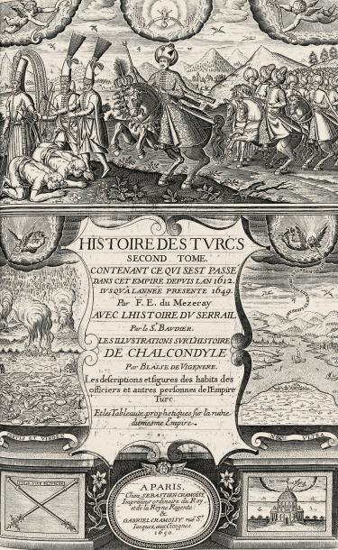 [CHALCONDYLE (Laonicus)], ARTUS D'EMBRY (Thomas), MÉZERAY (François Eudes de) & BAUDIER (Michel)