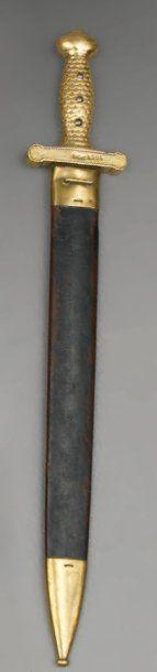 Glaive d'artillerie de marine modèle 1816,...
