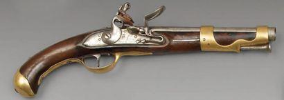 Pistolet de cavalerie modèle 1763/1766, canon...
