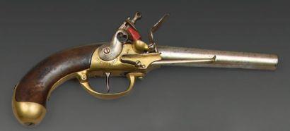 Pistolet à silex de cavalerie modèle 1777,...