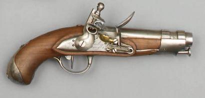 Pistolet de gendarmerie modèle an IX, canon...