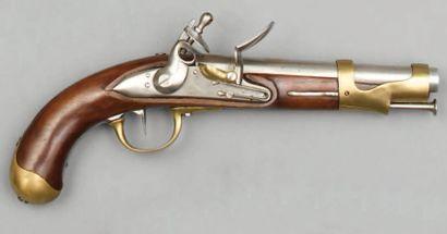 Pistolet de cavalerie modèle an IX, canon...
